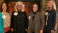 Please join us in welcoming our new Board members; (left to right) Brenda Bell, Jan Henson (President Elect), Linda Wiedner, and Susan Chatham!
